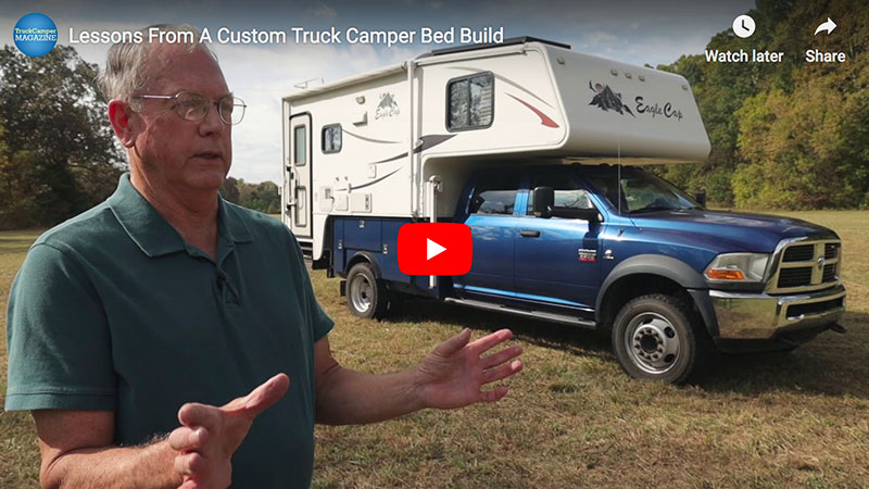 VIDEO: Lessons From A Custom Truck Camper Bed Build