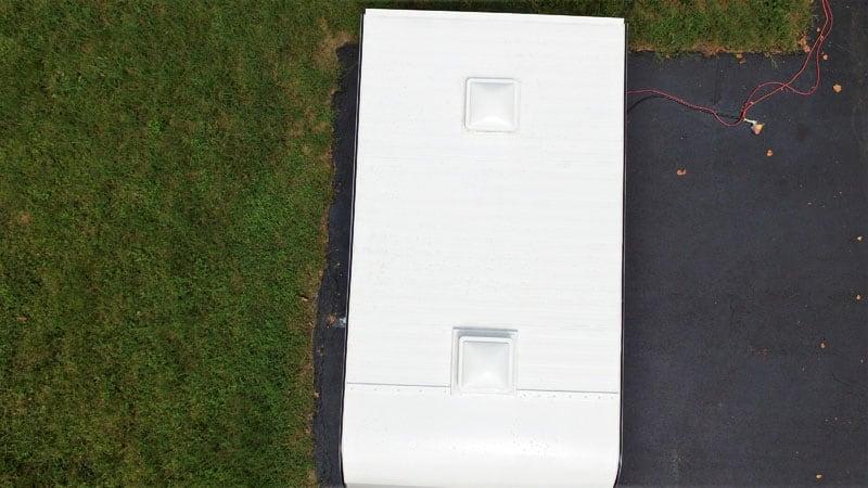 Finished Roof Henry Tropi Cool 887 Roof Coating
