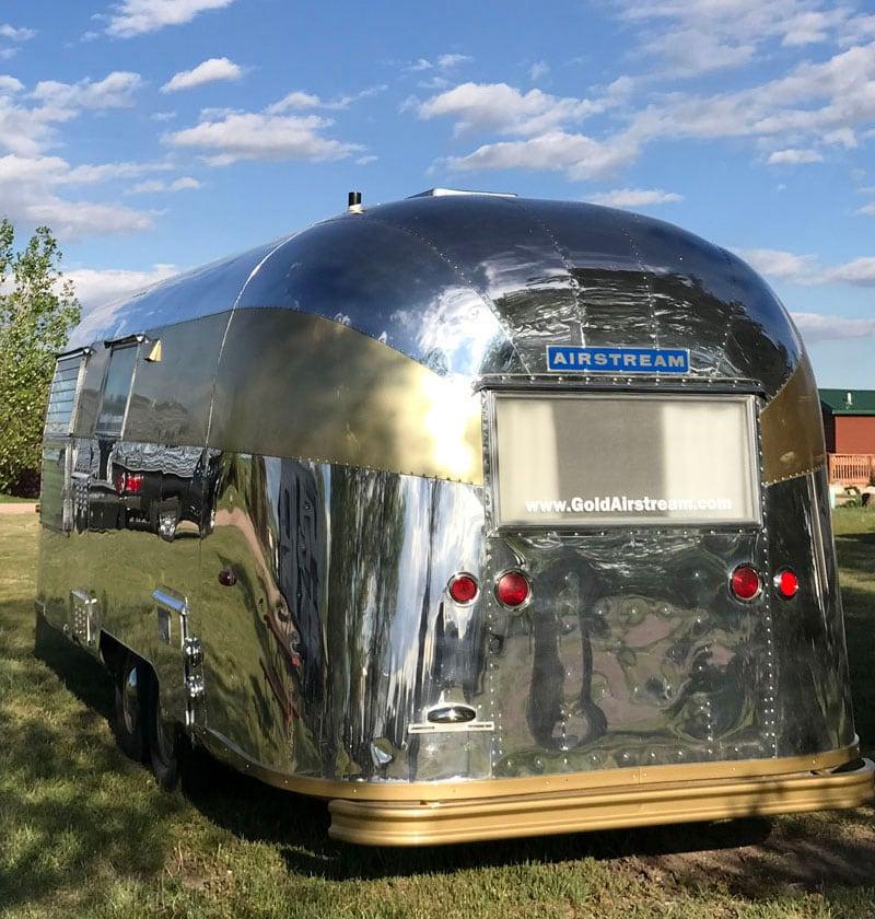 Golden Airstream Shiny