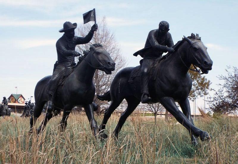 Land Rush Bronzes, Oklahoma