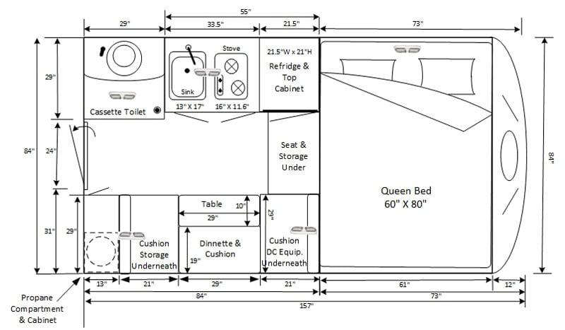 Mini Max Floor Plan Dimensions