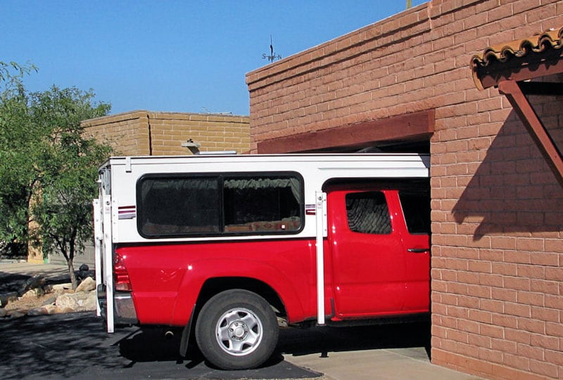 Phoenix Camper Standard Garage Fit