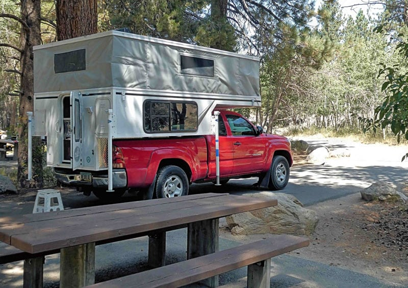 Phoenix Custom Camper Tacoma Truck