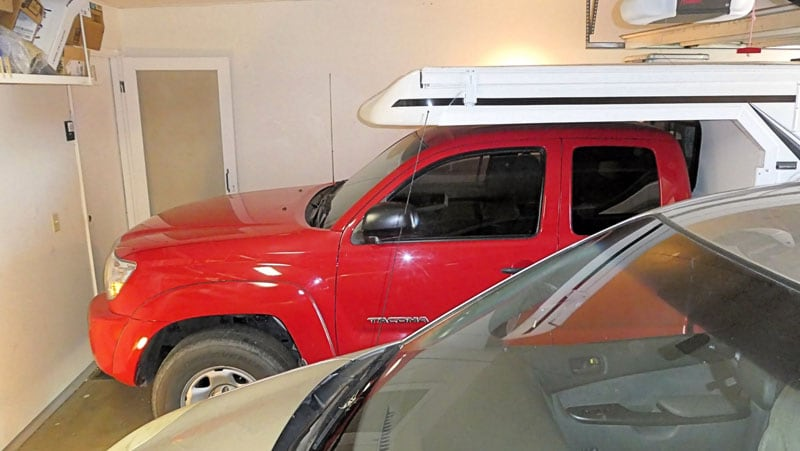 Popup Camper Fits In Garage