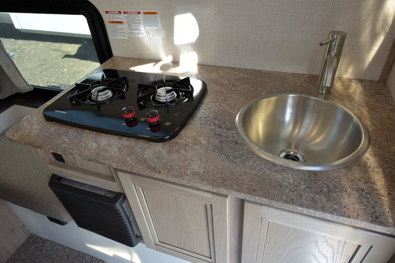 Rogue EB 2 Sink and Stove