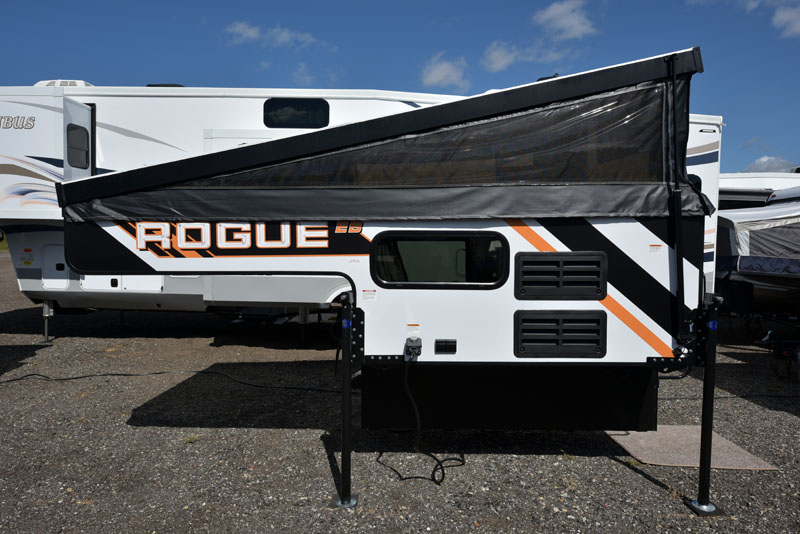 Palomino Rv Launches Rogue Line Truck Camper Magazine