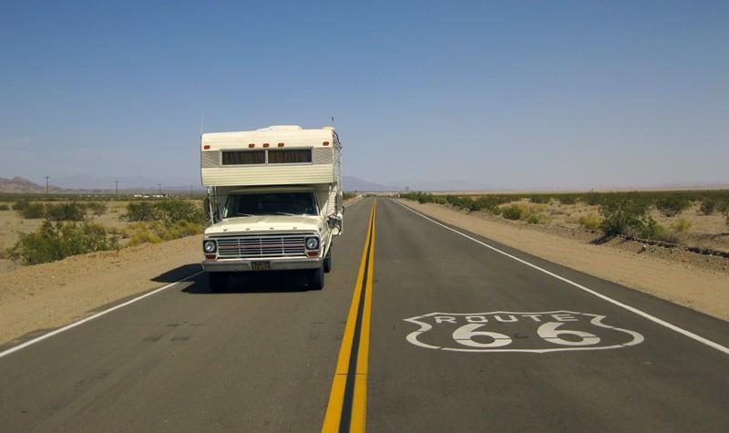 Route 66 Vintage Camper