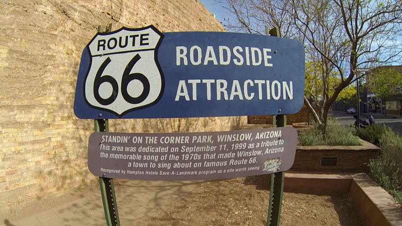 Route 66 Roadside Attraction