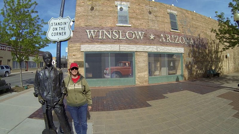 Standin' On The Corner Winslow Arizona