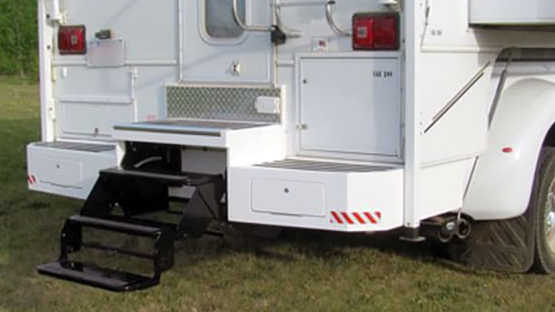 Custom Storage Bumper Systems For Truck Campers - Truck Camper Magazine