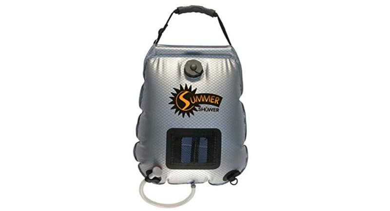 Summer Solar Shower Bag To Heat Water
