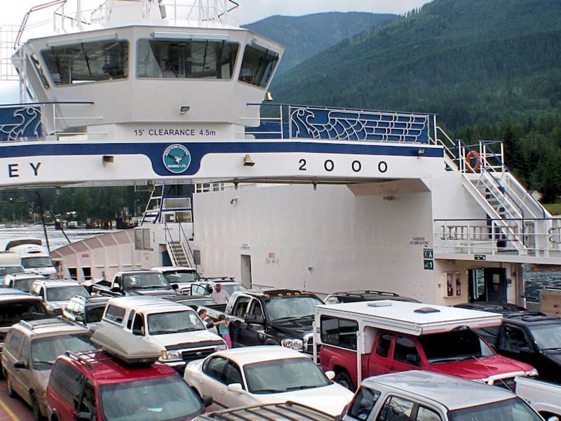Truck Camper Ferry Passenger Car Price