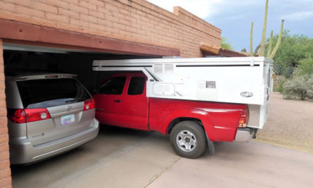 Truck Camper Fit In Standard Garage