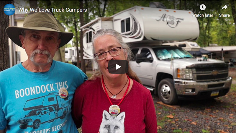 VIDEO: Why We Love Truck Camping - Truck Camper Magazine