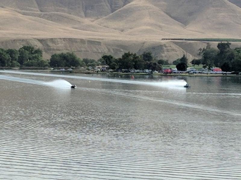 Battling On The Liquid Quarter Mile Boat Races