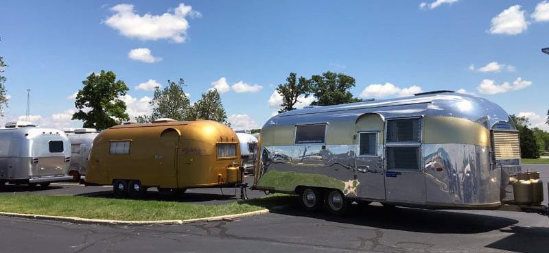 Different Gold Airstreams