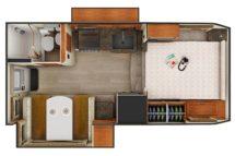 2020 Lance 1062 Floor Plan BG