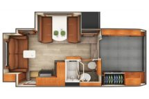 2020 Lance 1172 Floor Plan BG
