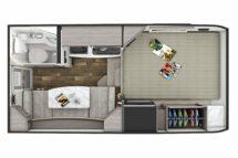2020 Lance 650 Floor Plan BG