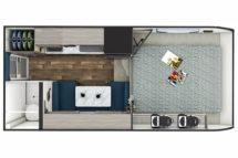 2020 Lance 825 Floor Plan BG