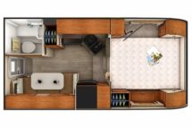 2020 Lance 850 Floor Plan BG