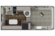 2020 Lance 865 Floor Plan BG