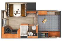 2020 Lance 975 Floor Plan BG
