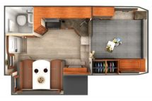 2020 Lance 995 Floor Plan BG