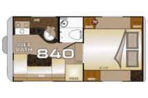 2020 Wolf Creek 840 Floor Plan