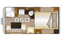 2020 Wolf Creek 850 Floor Plan Buyers Guide