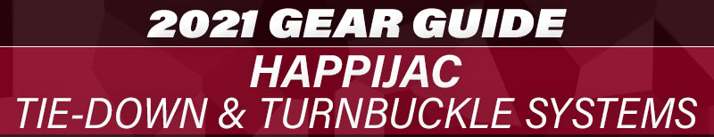 2021 Gear Guide Happijac Tie Down Turnbuckle