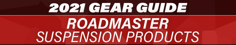 2021 Gear Guide Roadmaster Suspension Products