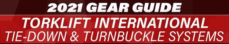 2021 Gear Guide Torklift Tie Down Turnbuckle