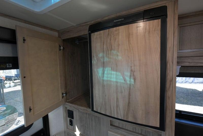 Hidden Hinged Cabinet Palomino Camper