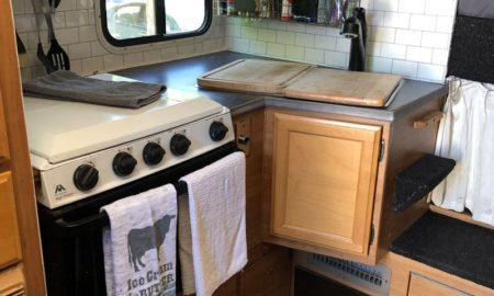 Kitchen Remodeling Of Lance Camper