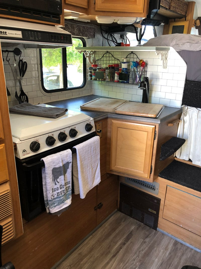 Kitchen Remodeling Of Lance Camper