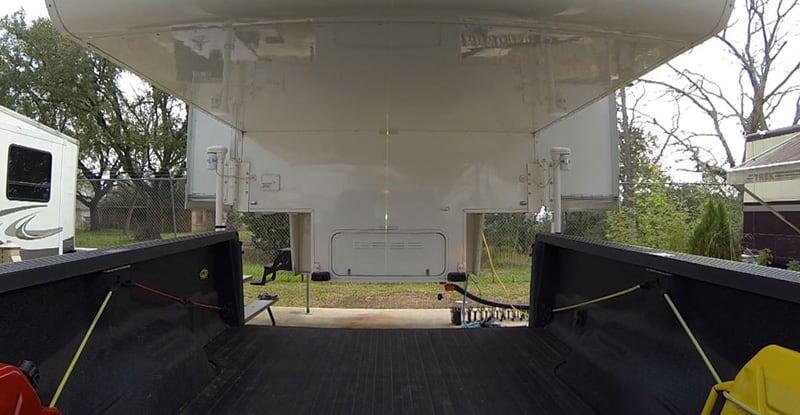 Laser Loader In Use With Camper