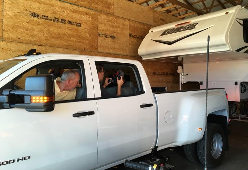 Loading A Lance Camper