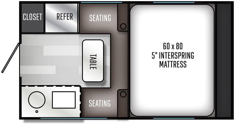 Palomino HS-690 Floor Plan