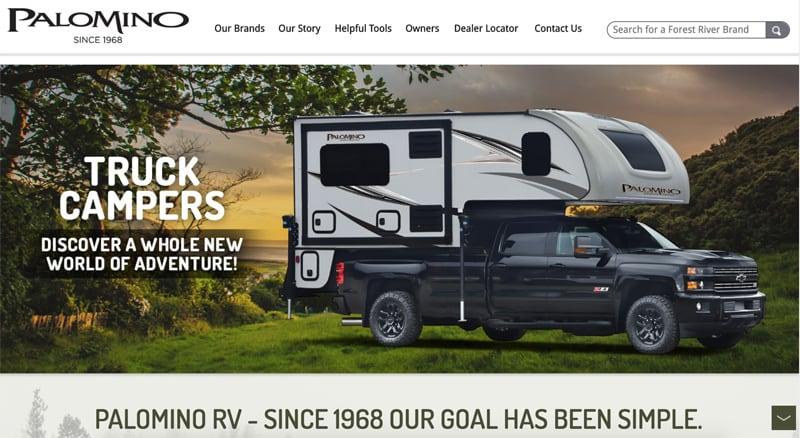 Palomino New Website 2020