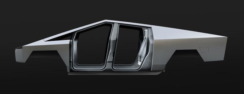 Tesla Cybertruck Exoskeleton Steel