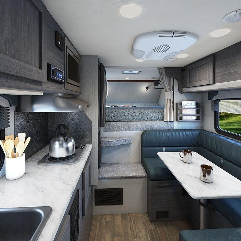 2020 Lance 825 Interior