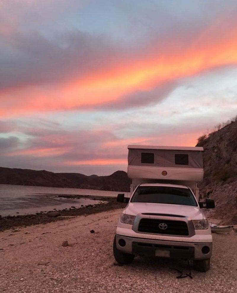 Concepcion Bay Baja Camping