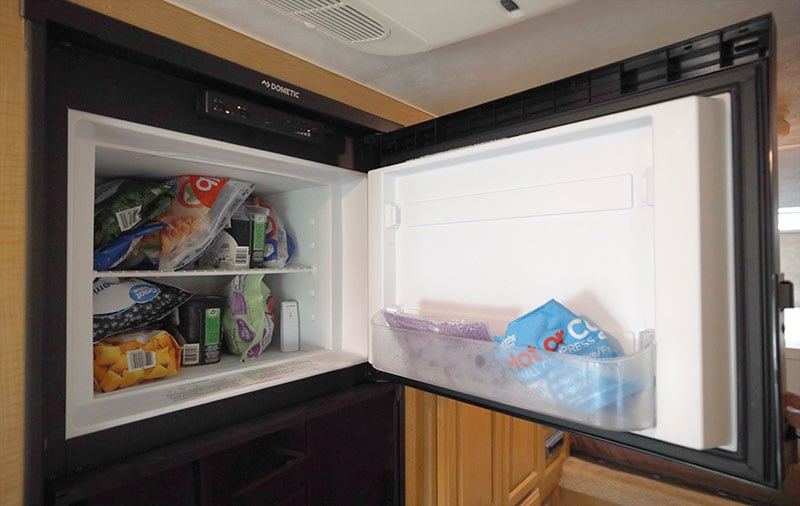 Dometic Refrigerator Controls In Freezer