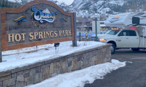 Hot Springs Park Ouray Colorado