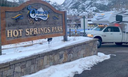 Hot Springs Park Ouray Colorado