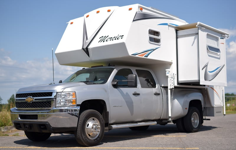 Mercier Custom Side Entry Truck Camper
