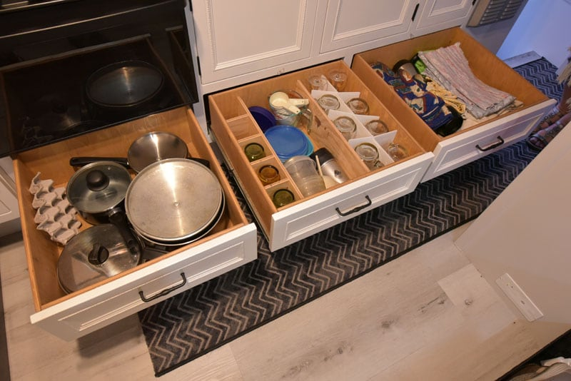 Mercier Kitchen Storage Drawers