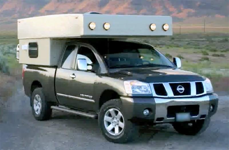 Titan Camper On Nissan Titan Truck