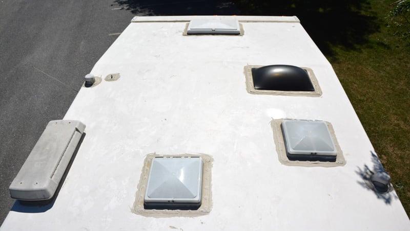 Alpenlite Vacuum Bonded Roof